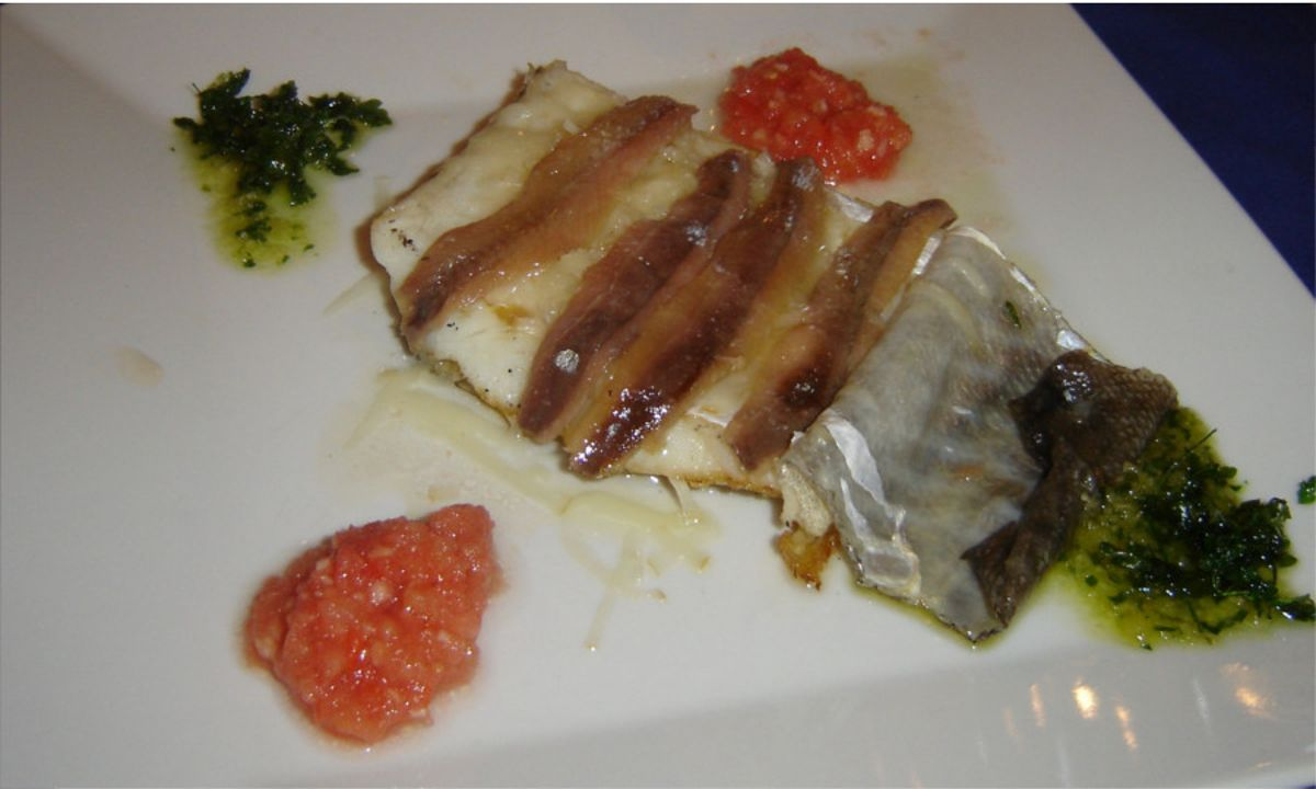 bacalao anchoas